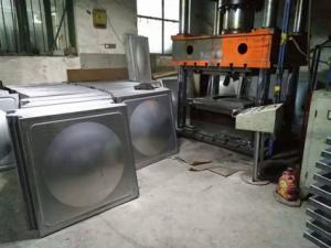 不锈钢水箱板成型